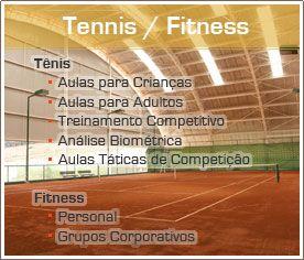 Academia de Tennis e Fitness no Alphaville - Foto